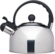 DecoKing 51863 Hervidor con Silbato 3L Acero Fino Mango Tapadera Cocina de Gas Cocina El/éctrica Placa de Inducci/ón Azul Blue Marble